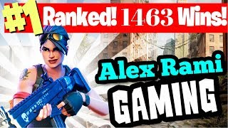 #1 WORLD RANKED 1463 SOLO WINS! - FORTNITE BATTLE ROYALE LIVE STREAM