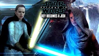 Star Wars! How Rey Becomes A Jedi In Episode 9! Leaked Details & Potential Spoilers
