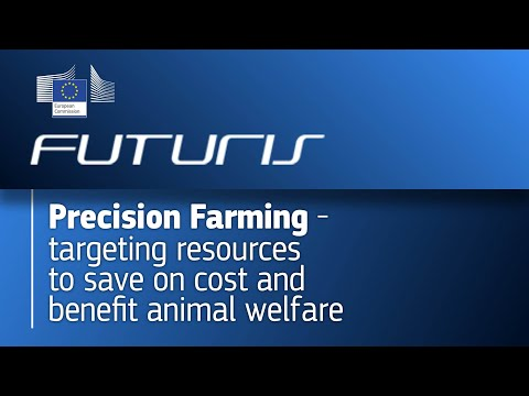 Precision Farming - targeting resources to save on cost and benefit animal welfare photo
