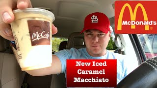 McDONALD'S INTRODUCES ICED CARAMEL MACCHIATO | REVIEW MCCAFE THE SHOWSTOPPER SHOWS