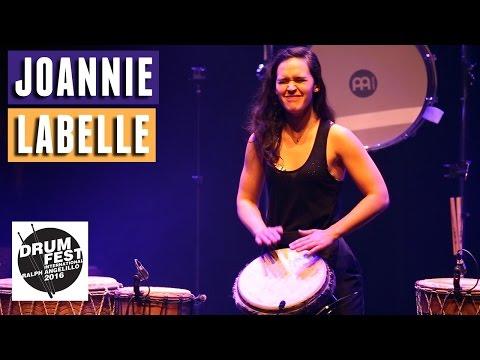 Joannie Labelle - 2016 Drum Festival International Ralph Angelillo