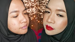 Long Lasting Full Coverage Foundation Routine | Acne, Oily Skin