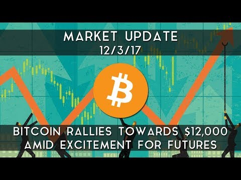 Weekly Update (12/03/17) | Bitcoin surges towards $12,000