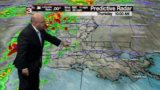 Rob's weather forecast 4-17-19 10pm
