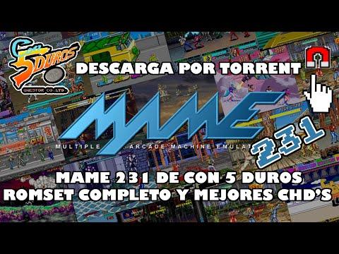 MAME 0.231 DE CON 5 DUROS-ROMSET COMPLETO+CHD'S - DESCARGA POR TORRENT