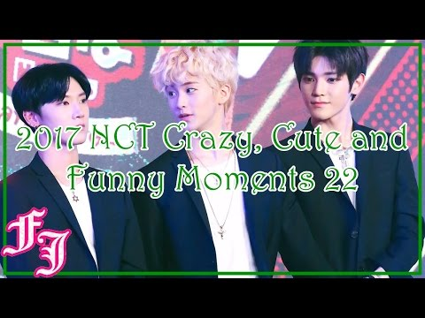 2017 NCT Crazy, Cute and Funny Moments 22