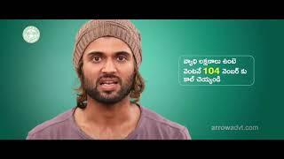 Vijay Deverakonda alerts people on coronavirus with a vide..