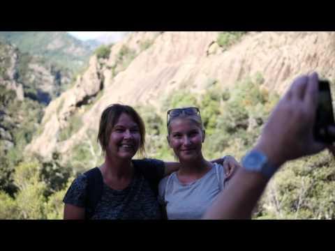 Mountain hike on Corsica with Langley