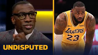 I'm not concerned about LeBron James & Lakers after loss to Warriors —Shannon | NBA | UNDISPUTED