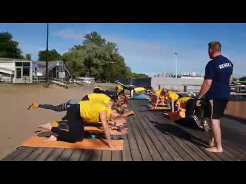 Сборы-2019. Тренировочный процесс