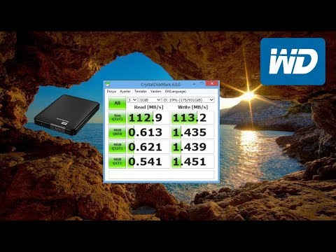 video WD Elements 1TB 2.5′ USB 3.0 Taşınabilir Disk