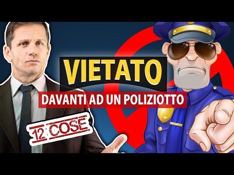 12 COSE che non puoi DIRE o FARE davanti a un POLIZIOTTO | Avv. Angelo Greco