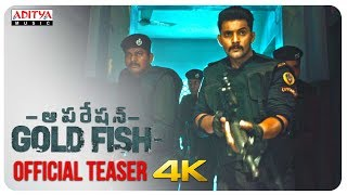 Operation Gold Fish Movie Teaser- Aadi, Sasha Chettri..