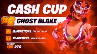 How I Placed TOP 3 In Solo Cash Cup 🥈 (Fortnite Cash Cup Highlights) | Ghost Blake