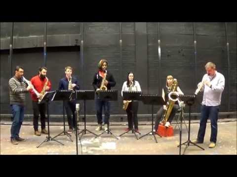 Man-Mou - Sopranino Saxophone and Sax Sextet