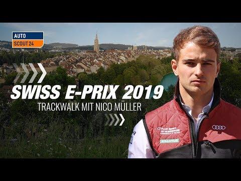 Formel E - Swiss E-Prix Bern - Trackwalk mit Nico Müller