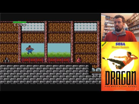 DRAGON: THE BRUCE LEE STORY (Master System) - Gameplay en Español || MORRALLA CLÁSICA