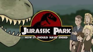 How Jurassic Park Should Have Ended