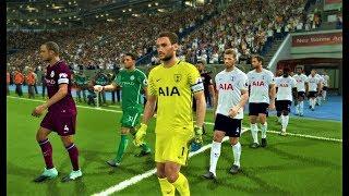 Tottenham vs Manchester City 2018 | Full Match | PES 2018 Gameplay HD