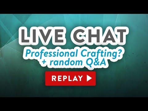 LIVE Chat – How I got started + Q&A