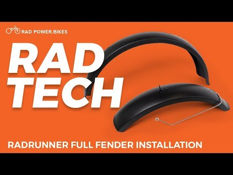 RadRunner Full Fender Installation | Rad Tech