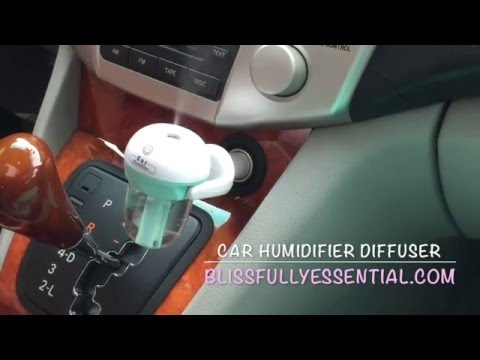 Car Humidifier Diffuser
