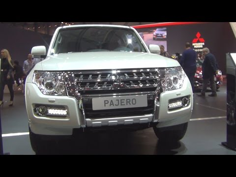 Mitsubishi Pajero 3.2 5AT (2016) Exterior and Interior in 3D