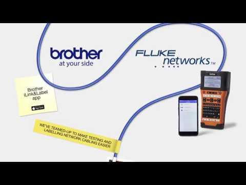 Brother iLink&Label app og Fluke Networks