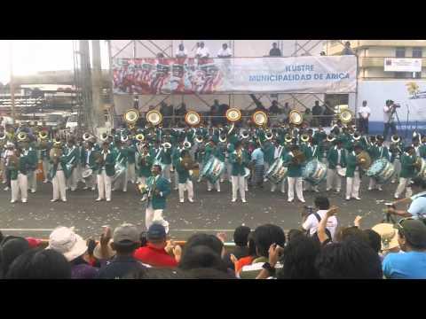 Banda Espectacular Bolivia, Carnaval Arica 2012