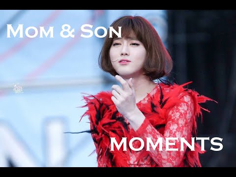Suho Omma with Sehun & Tao (Mom & Son Moments)