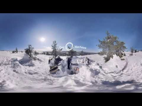 Stop-over Finland 360 Winter