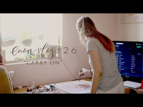 """""""Carry On"""" Oil Painting On Canvas 
