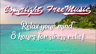 🐼 Relax Music 2018 - Relax your mind - 8 hours sleep stress relief meditation music