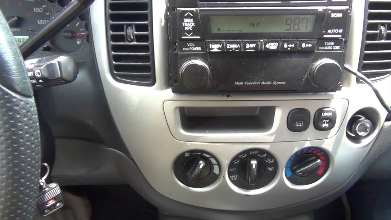 Gta Car Kits Mazda Tribute 2002 2006 Ipod Iphone And