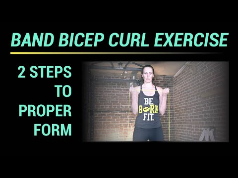 Band Bicep Curl