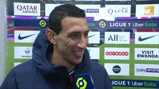Di María sees Messi's arrival to PSG very close