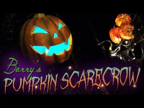 Barry's Pumpkin Scarecrow