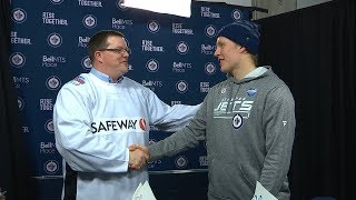 Jets fan talks his million-dollar win from Laine's big game