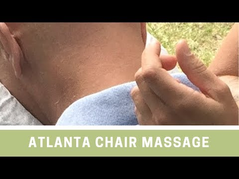 Chair Massage Atlanta Georgia Sandy Springs Roswell Johns Creek