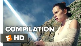Star Wars: The Last Jedi ALL Trailers + Extras (2017) | Movieclips Trailers