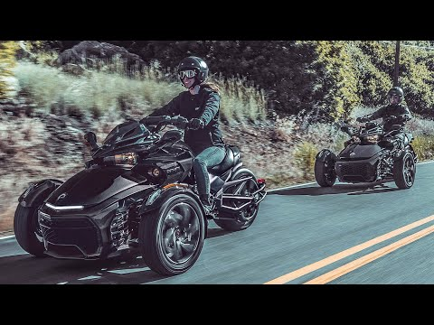Can-Am Spyder F3-S Gravity Grey '21