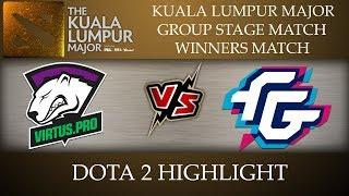 Virtus Pro vs Forward Gaming Kuala Lumpur Major 2018 Dota 2 Highlights [10-Nov-2018]