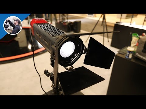 NAB 2017: Aputure Mini 20c - Bicolor Portable LED Light