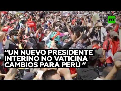 Experto considera que la presencia de un nuevo presidente interino no vaticina cambios para Perú