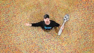 World's Largest Bowl Of Cereal