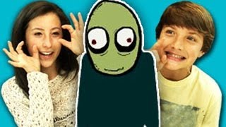 Repeat youtube video TEENS REACT TO SALAD FINGERS (ft. Jake Short!)