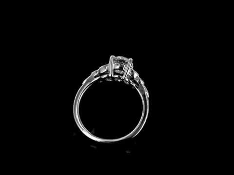 Browns Family Jewellers Art Deco Diamond Solitaire Ring