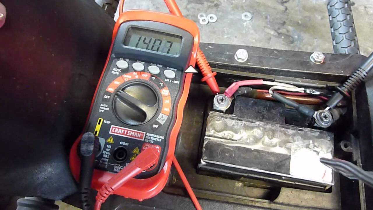 Scooter Charging System Check Is It Working Youtube