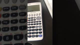 How to save equations in a graphing calculator (Casio fx-9750gii)