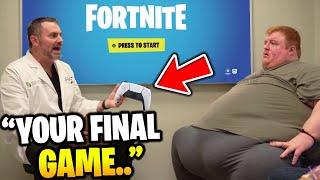 Doctor Tells Kid It's his FINAL Fortnite Game..